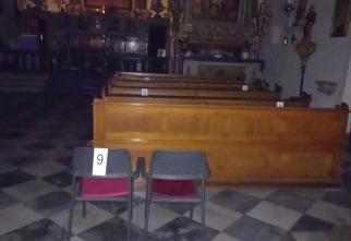 število vernikov v naši cerkvi