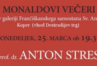 Monaldov večer, 25.3.2019: nadškof Anton Stres