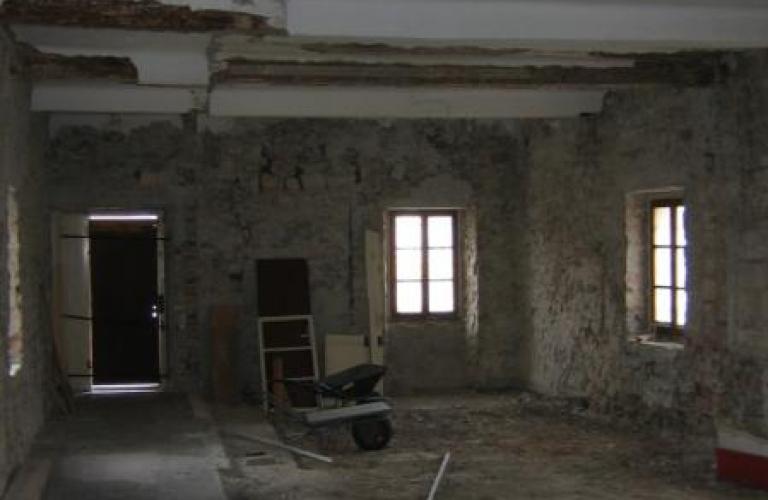 Frančiškanski Samostan Koper obnovitvena dela 2006