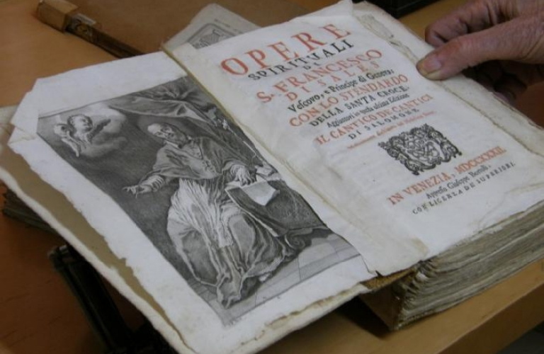 Frančiškanski Samostan Koper - Knjižnica