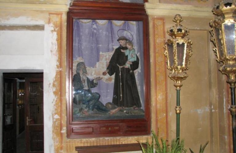 Frančiškanski Samostan Koper - Kapela sv. Antona Padovanskega