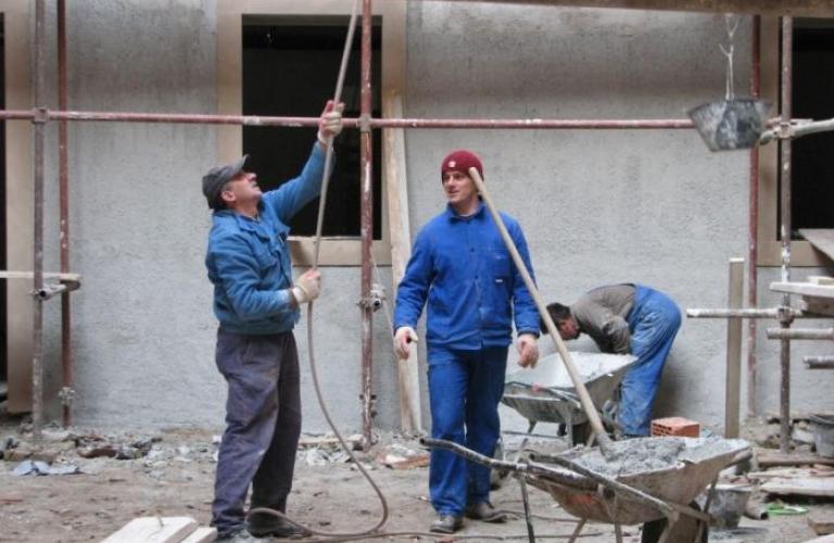 Frančiškanski Samostan Koper obnovitvena dela 2007