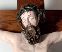 OBNOVLJEN KRIŽ IN NJEGOVA KOPIJA