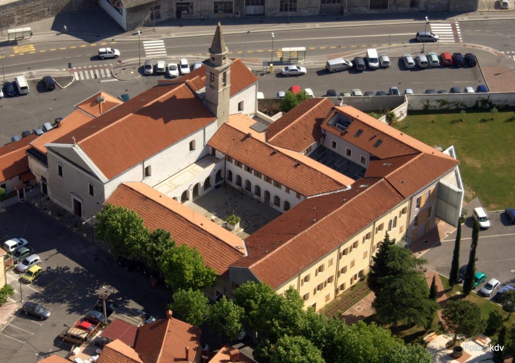 La storia del convento francescano