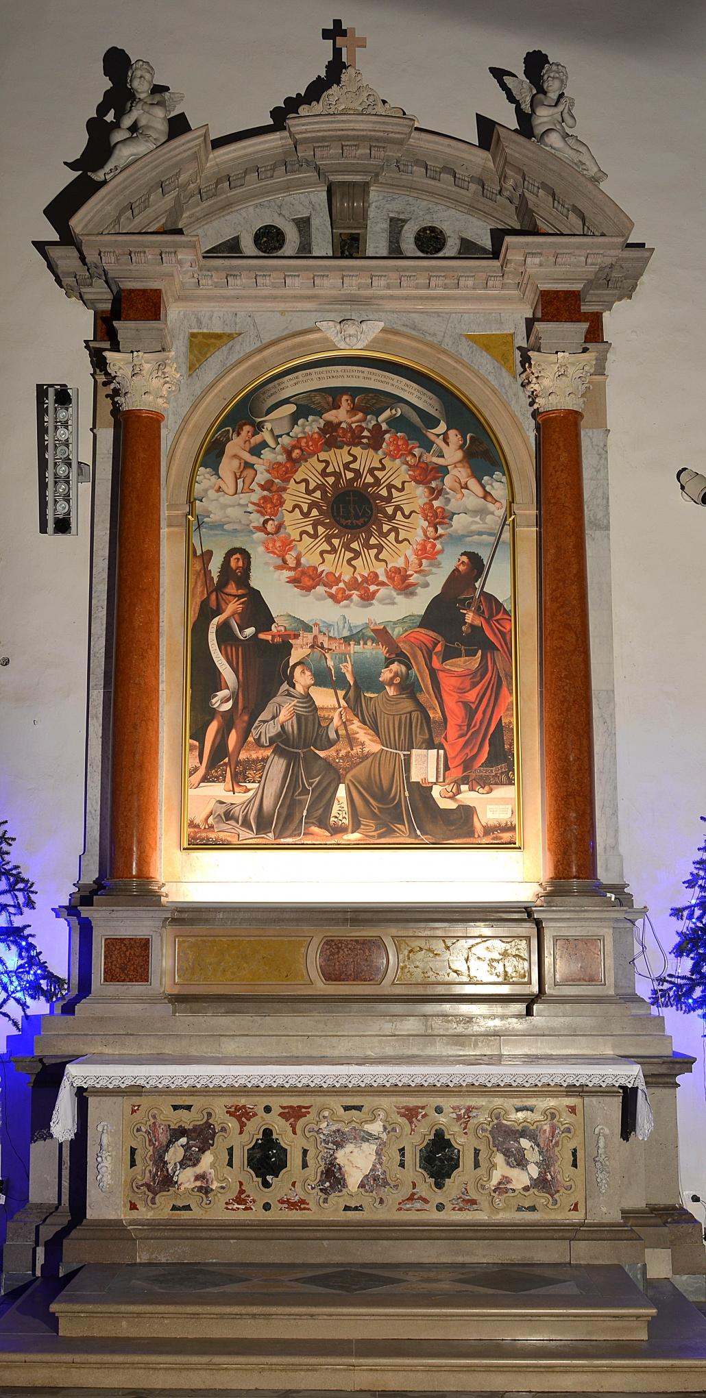 Frančiškanski samostan Koper - Restitucija